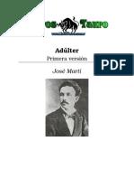 Marti, Jose - Adultera