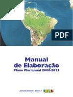 Manual Elaboração PPA 2008-2011