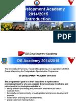 DS Academy Intro 2014 2015