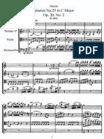 Haydn String Quartett