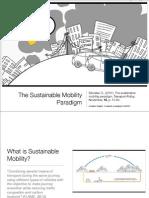 Sustainable Mobility Paradigm