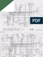 Honda Hornet 2006 wiring diagram