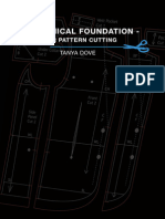 A Technical Foundation - Menswear Pattern Cutting by Tanya Dove
