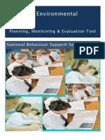 classroom environment checklist