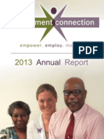 Employment Connection 2013 Annual Report