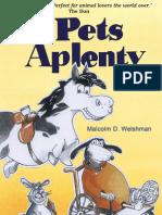 Pets Aplenty by Malcolm D Welshman