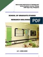 Msu-iligan Institute of Technology Andres Bonifacio Avenue, Tibanga 9200 Iligan