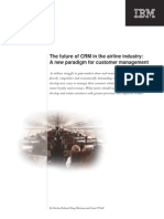 The future of CRM in the airline industry