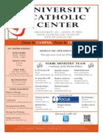 UCC Bulletin 08-17-2014