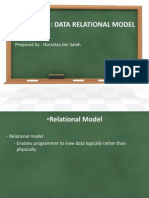 Chapter 3 - Data Relational Model