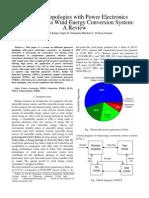 Generator Topologies With Converters