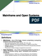 EGI Mainframe Vs Open Systems