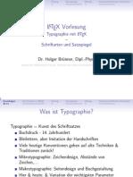 LaTeX VorlesungSchriften