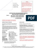 Qualification Specs for ITT GT25