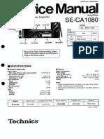 Technics Se-ca1080 Sm