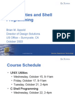 UNIX Utilities and Shell Programming Part1