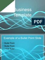 Light Streaks powerpoint template