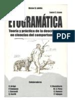 libro etogramatica