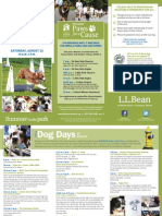2014 L.L.Bean Dog Days of August Schedule