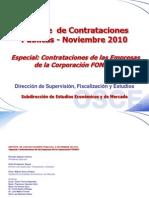 Reporte de Contrataciones Noviembre - Especial FONAFE Final