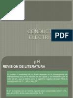 Comductividad Electrica y PH