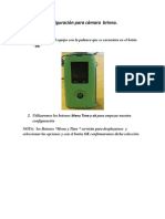 Manual de Configuración para cámara  brinno.docx