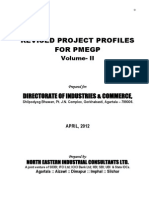 PMEGP Revised Projects (Mfg. & Service) Vol 2