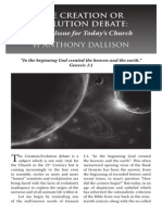 2010 Issue 4 - The Creation or Evolution Debate - Counsel of Chalcedon