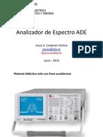 Analizador de Espectro ADE-2014