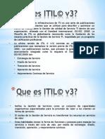 Que es ITIL© ESPE