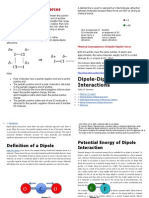 All about Dipole-Dipole