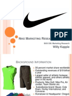 Nike+Marketing+Research