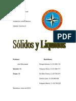 Trabajo Quimica 2 - Solidos y Liquidos