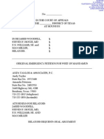 HERO Petition Mandamus 08-11-2014