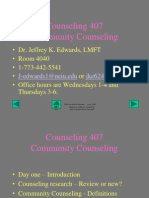 Psychotherapy in Community Counseling.part Two