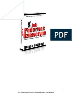 Jakpoderwacdziewczyne pdf | Woman | Love