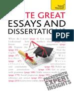 Write Winning Essays n Dissertations