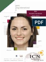 BBA Student Handbook 2012 2013