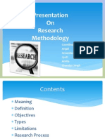 Presentation on Research Methodology (2)