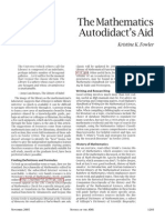 Fowler's Math.autodidact's.aid