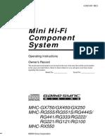MHCGX450