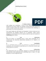 Los 5 Pilares Del Marketing Boca a Boca