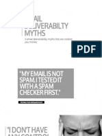 7 EmailDeliverabilityMyths