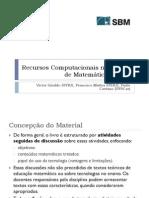 MA36 - Recursos Computacionais No Ensino de Matemática (1)