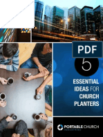 Five Essentials for Church Planters