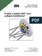 Tutorial_Simulação de Frenagem e Estrutura Usando Solidworks