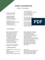 Canciones Guatemaltecas