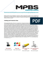 Clothing and Protective Wear - MPBS Industries