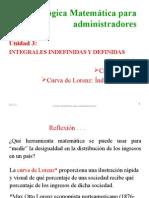 3.6 Cambio Neto. Curva de Lorenz 2013-2