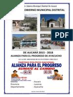 Plan de Gobierno de App Aucará - Gregorio Huallpatuero Chinchay